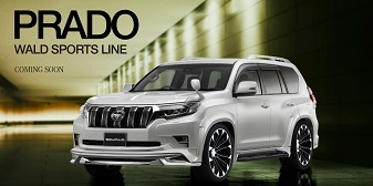 Toyota Prado 2017+ WALD INTERNATIONAL