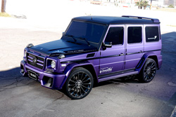 G-CLASS Sports Line Black Bison Edition