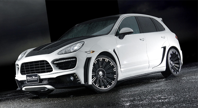 CAYENNE SPORTS LINE Black Bison Edition